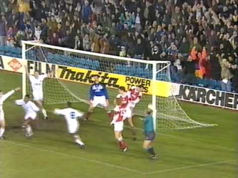 Leeds vs Arsenal 1992