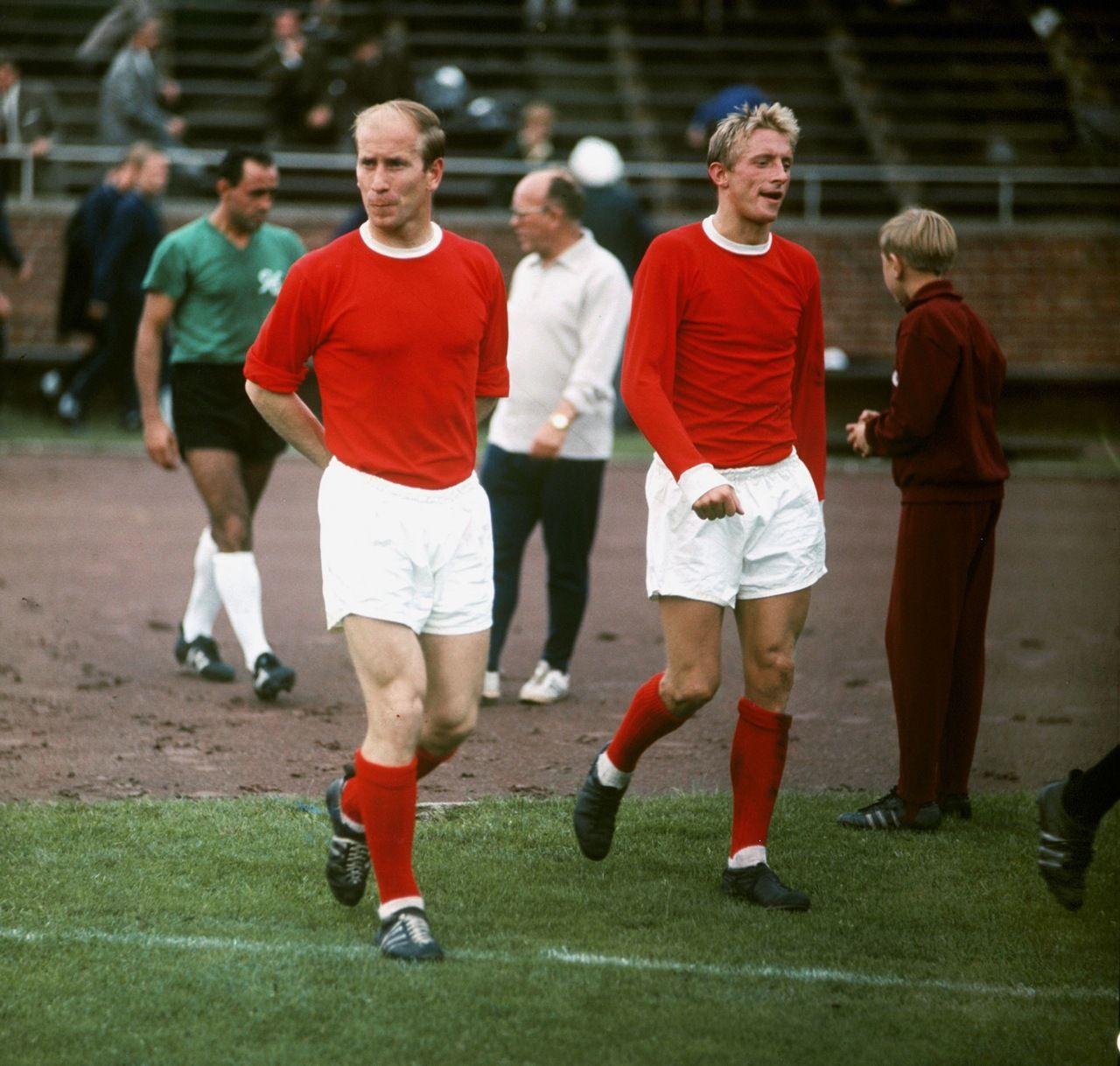 Dennis Law & Bobby Charlton