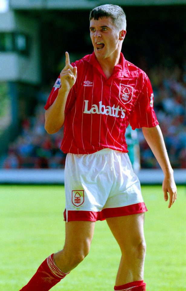 Roy Keane Nottingham Forest