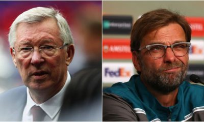 alex ferguson and Jurgen klopp