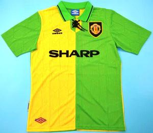 Green Yellow Kit Manchester United