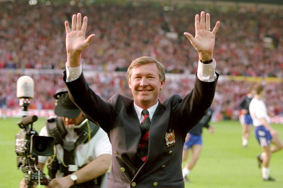 Alex Ferguson 90's