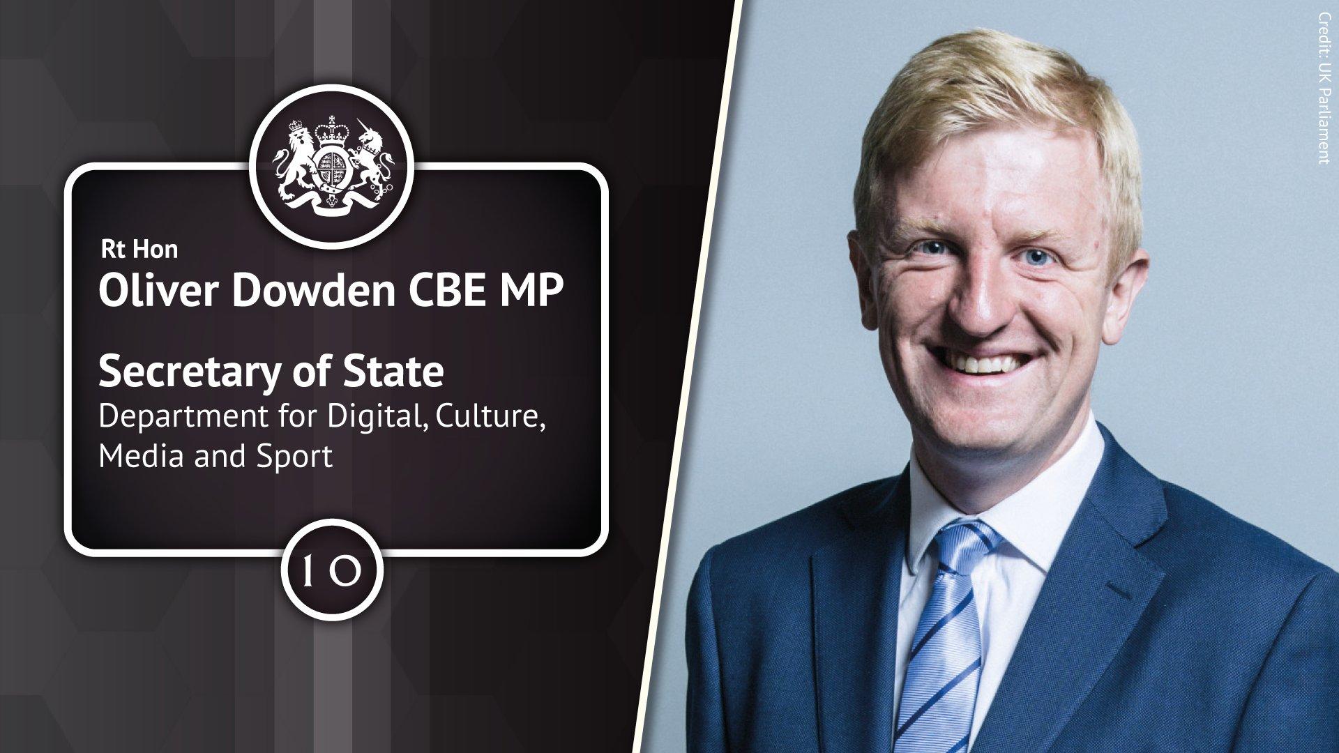 Oliver Dowden parliament