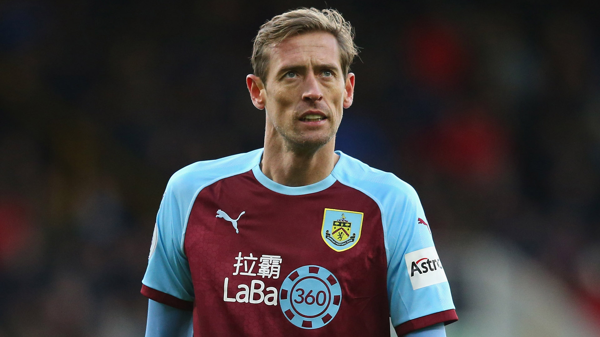 Peter Crouch Burnley