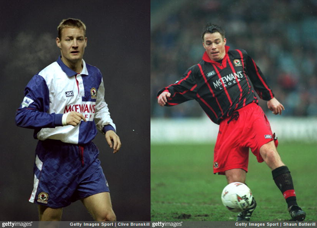 David Batty and Graeme Le Saux Blackburn Rovers