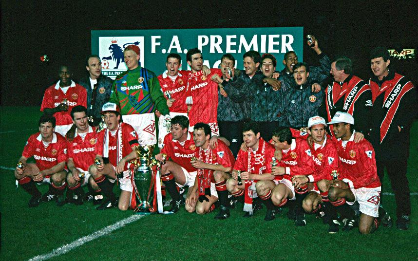 Manchester United 1992.1993 champions