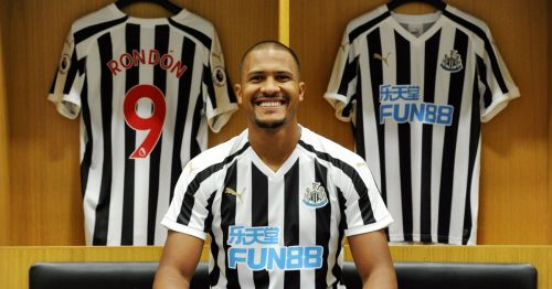 Salomon Rondon Newcastle United